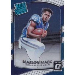 MARLON MACK 2017 PANINI OPTIC RATED ROOKIE