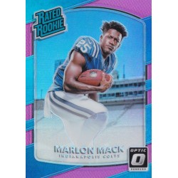 MARLON MACK 2017 PANINI OPTIC RATED ROOKIE PINK
