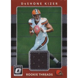 DESHONE KIZER 2017 PANINI OPTIC THREADS JERSEY ROOKIE
