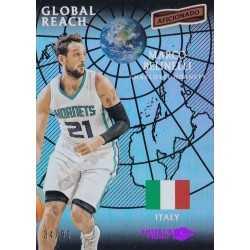 MARCO BELINELLI 2016-17 PANINI AFICIONADO GLOBAL REACH /99