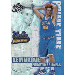 KEVIN LOVE 2008 PRESS PASS PRIME TIME PLAYERS
