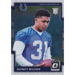 QUINCY WILSON 2017 OPTIC ROOKIE