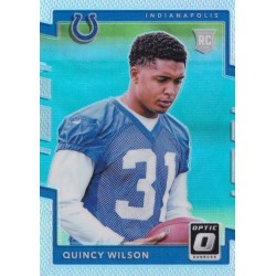 QUINCY WILSON 2017 OPTIC HOLO ROOKIE