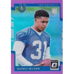 QUINCY WILSON 2017 OPTIC PINK ROOKIE