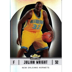 JULIAN WRIGHT 2007 TOPPS FINEST RC REFRACTOR /319
