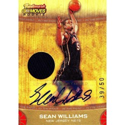 SEAN WILLIAMS 2007-08 TOPPS TRADEMARK NBA