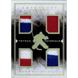 HENRIK LUNDQVIST 2014-15 ANTHOLOGY TETRAD MATERIALS PATCH /99