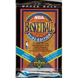1991-92 UPPER DECK NBA BASKETBALL HIGH SERIES PAQUET