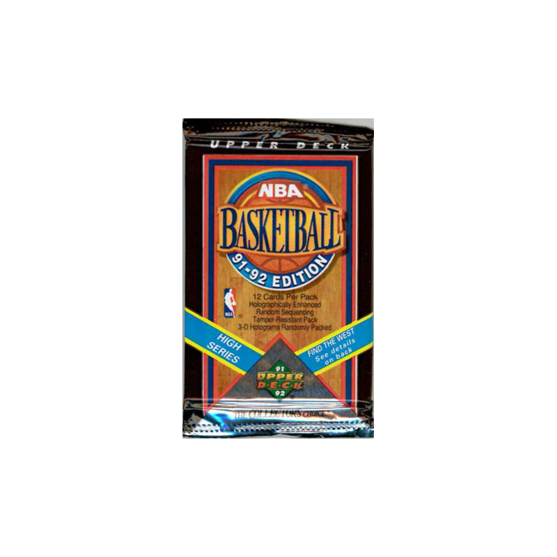 1991-92 UPPER DECK NBA BASKETBALL HIGH SERIES PAQUET