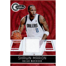 SHAWN MARION 2010-11 CERTIFIED JERSEY /249