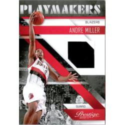 ANDRE MILLER 2010-11 PRESTIGE PLAYMAKERS JERSEY /249