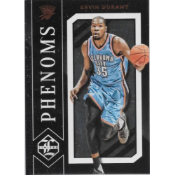 KEVIN DURANT 2015-16 LIMITED PHENOMS CASE HIT SP