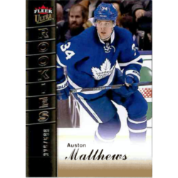 AUSTON MATTHEWS 2016-17 FLEER ULTRA SHOWCASE ROOKIE /599