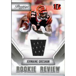 JERMAINE GRESHAM 2011 PRESTIGE ROOKIE REVIEW JERSEY