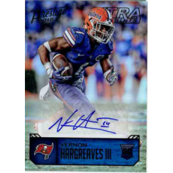 VERNON HARGREAVES III 2016 PRESTIGE XTRA POINTS BLACK ROOKIE AUTO /10