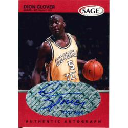 DION GLOVER 1999 SAGE AUTO /885