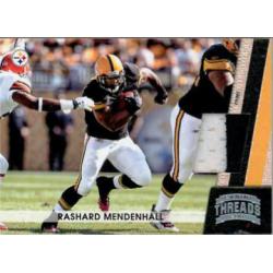 RASHARD MENDENHALL 2011 PANINI THREADS PRIME PATCH /99