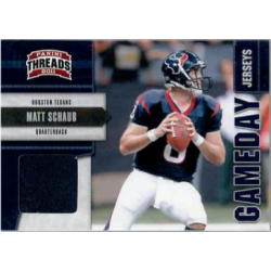 MATT SCHAUB 2011 PANINI THREADS GAMEDAY JERSEY /299
