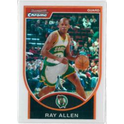 RAY ALLEN 2007-08 BOWMAN CHROME REFRACTOR /299