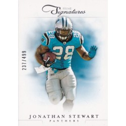 JONATHAN STEWART 2012 PANINI PRIME SIGNATURES /499