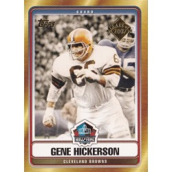 GENE HICKERSON 2007 TOPPS HALL OF FAME