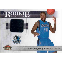 DOMINIQUE JONES 2010-11 PANINI THREADS ROOKIE COLLECTION JERSEY /399