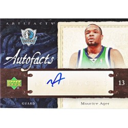 MAURICE AGER 2007-08 ARTIFACTS AUTO