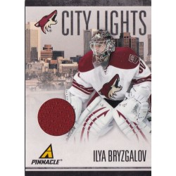 ILYA BRYZGALOV 2010-11 PANINI PINNACLE CITY LIGHTS JERSEY /499