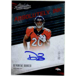 DEVONTAE BOOKER 2016 ABSOLUTE ABSOLUTELY INK AUTO /99