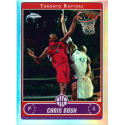 CHRIS BOSH 2006-07 TOPPS CHROME REFRACTOR