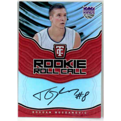 BOGDAN BOGDANOVIC 2017-18 TOTALLY CERTIFIED ROOKIE ROLL CALL RC AUTO