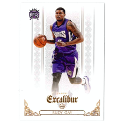RUDY GAY 2014-15 PANINI EXCALIBUR