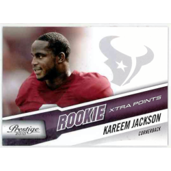 KAREEM JACKSON 2010 PRESTIGE ROOKIE XTRA POINTS PURPLE /50