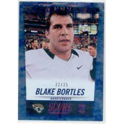 BLAKE BORTLES 2014 SCORE ARTIST PROOF BLUE ROOKIE /35