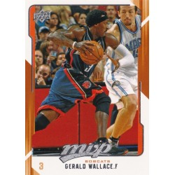 GERALD WALLACE 2008-09 UPPER DECK MVP