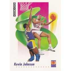 KEVIN JOHNSON 1991-92 SKYBOX