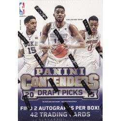 2015-16 PANINI CONTENDERS DRAFT PICKS BLASTER BOX