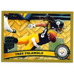 TROY POLAMALU 2011 TOPPS GOLD /2011
