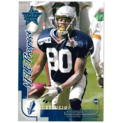 SELUCIO SANFORD 2000 LEAF ROOKIES AND STARS NFL PROSPECT /3000
