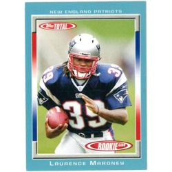 LAURENCE MARONEY 2006 TOPPS TOTAL BLUE ROOKIE
