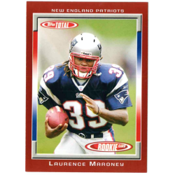 LAURENCE MARONEY 2006 TOPPS TOTAL RED ROOKIE