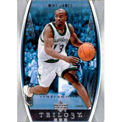 MIKE JAMES 2006-07 UPPER DECK TRILOGY