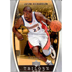 JASON RICHARDSON 2006-07 UPPER DECK TRILOGY