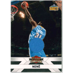 NENÊ 2010-11 PANINI THREADS JERSEY /399 - EXMT CONDITION