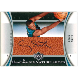 CRAIG SMITH 2006-07 UD SWEET SHOT AUTO