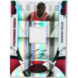 JERMAINE TAYLOR 2009-10 CERTIFIED RED ROOKIE AUTO JERSEY /100