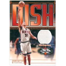 SHANE BATTIER 2002-03 FLEER BOX SCORE DISH & SWISH JERSEY