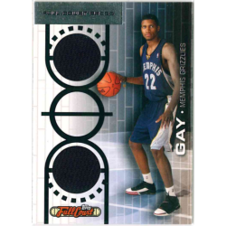 RUDY GAY 2006 TOPPS FULL COURT PRESS JERSEY /199