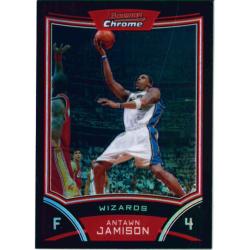 ANTAWN JAMISON 2008-09 BOWMAN CHROME REFRACTOR /499