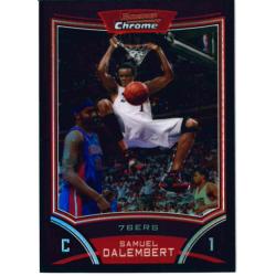 SAMUEL DALEMBERT 2008-09 BOWMAN CHROME REFRACTOR /499